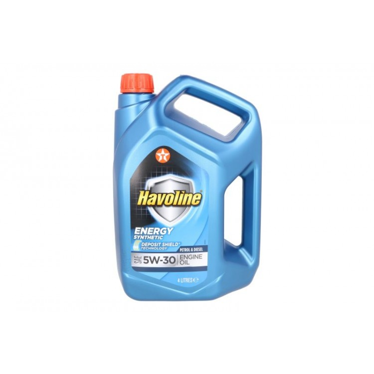 Моторно масло Texaco HAVOLINE ENERGY 5W30 4L