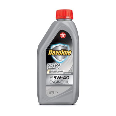 Моторно масло Texaco HAVOLINE ULTRA 5W40 1L
