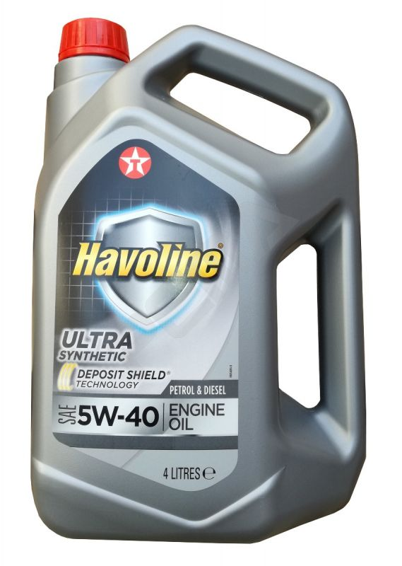 Моторно масло Texaco HAVOLINE ULTRA 5W40 4L