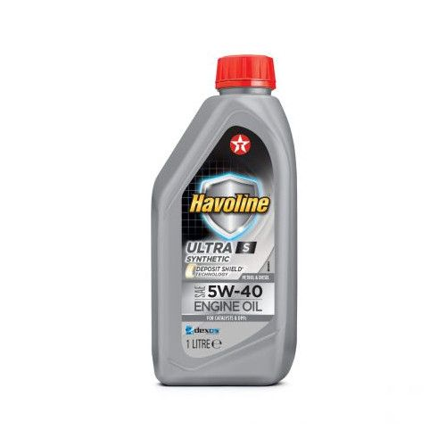 Моторно масло Texaco HAVOLINE ULTRA S 5W40 1L