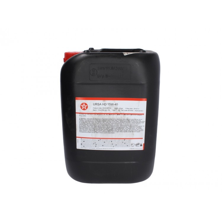 Моторно масло Texaco URSA HD 15W40 20L